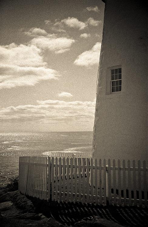 Coastal photography: Pemaquid Point lighthouse